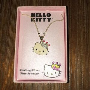 Princess Hello Kitty Sterling Silver necklace